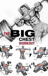 Pin On Big Chest Workout