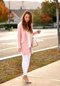 Light Blue Jeans Outfit 25 Beautiful Pink Outfits For Fall And Winter Be Modish