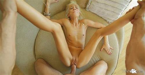 Puss Drilling For Sultry Blonde Chick #Tiny #Teen #Fucked