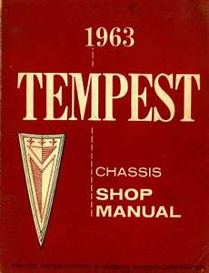 1963 Pontiac Tempest Chassis Shop Manual