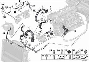 Bmw 335i Hose  Cylinder Head