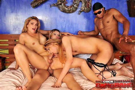 The Huge Orgy Gangbang Worldwide Dicked Shemale