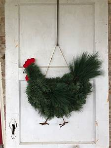 Rooster, Chicken, Wreath