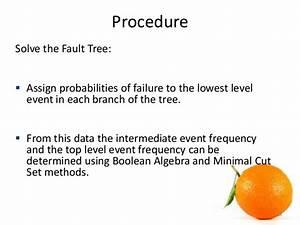Fault Tree Analysis  Fta  Seminar Presentation