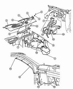 1998 Dodge Dakota Module  Wiper  Wiper Motor Included