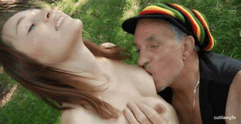 Grandpa Loves Tiny Sweet Breasty And Pussies