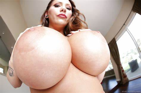 Biggest Titty Lovely Photo Galleries Lubed Pervert Strips And Show Her Unbelievable Giant