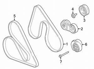Ford F-150 Accessory Drive Belt  Serpentine Belt  V