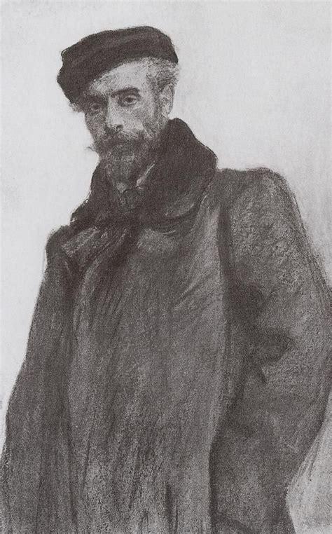 Portrait of the Artist Isaac Levitan - Valentin Serov ...