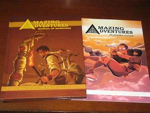 Amazing Adventures Manual Of Monsters Players Guide New