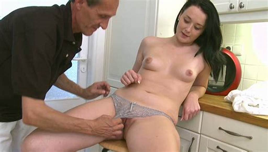 #Adorable #Brunette #Teen #Gets #Her #Shaved #Pussy #Polished #By