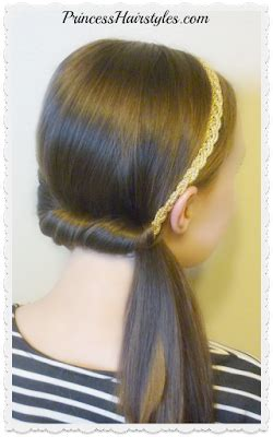 4 Easy Headband Hairstyles For School In 5 Minutes