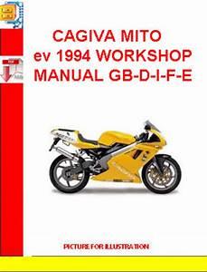 Cagiva Mito Ev 1994 Workshop Manual Gb-d-i-f-e