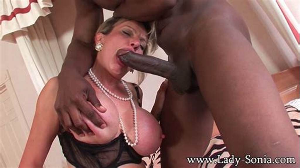 #Milf #Lady #Sonia #Having #Rough #Sex #With #Black #Gentleman #At