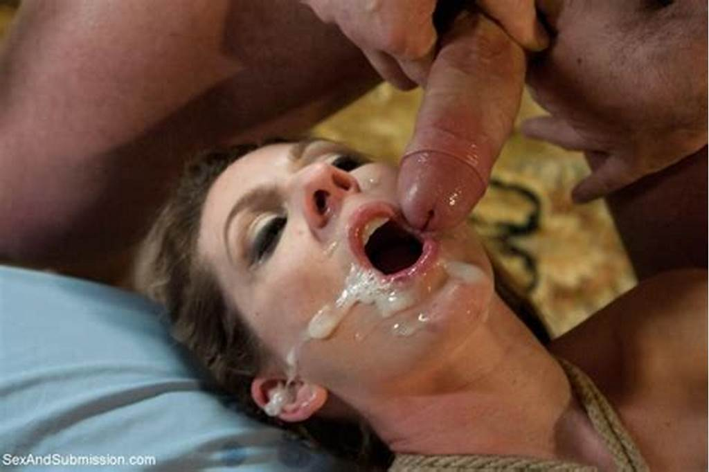 #Sexy #Babe #Gets #Tied #Up #Dominated #And #Hard #Fucked #In