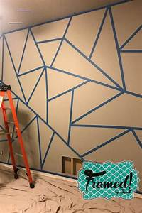 Tips, And, Tricks, For, Your, Diy, Color, Block, Wall