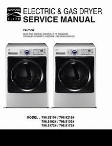 Kenmore Elite 81728 91022 81022 8129 9219 Dryer Service
