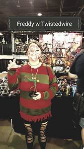 Female Freddy Kruger Came By To Say Hello  So I Gave Her A