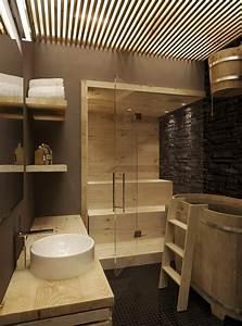 Sauna Für Badezimmer : kleine sauna in badezimmer integriert minisauna im bad ~ Lizthompson.info Haus und Dekorationen