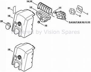 Stihl Ms250 Chainsaw Parts Diagram