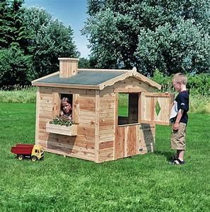 Gartenhaus Holz Kinder : kinder spielhaus promadino villa spatzennest kinder ~ Watch28wear.com Haus und Dekorationen