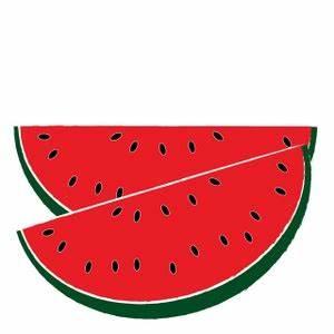 Watermelon Clipart Black And White | Clipart Panda - Free ...