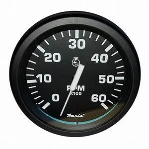 Faria 4 U0026quot  Heavy-duty Tachometer  6000 Rpm  Gas