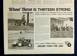 48 Best Wheel Horse Images On Pinterest