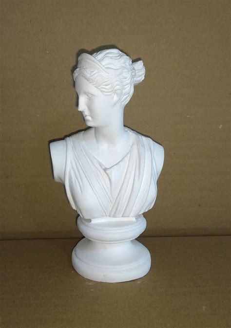 Imagem busto Ártemis Deusa Grega artemes pequena 13cm no Elo7   Imagens Da Fé (13DE7FC)