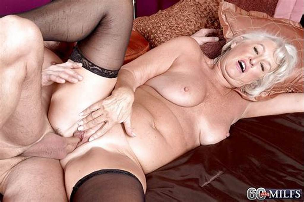 #Voluptuous #Granny #With #Saggy #Tits #Begs #A #Young #Dude #To