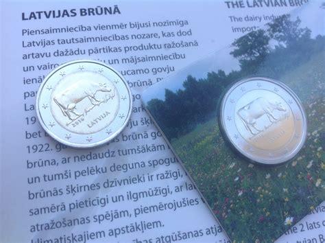 Apskats: Latvijas 2 eiro monēta