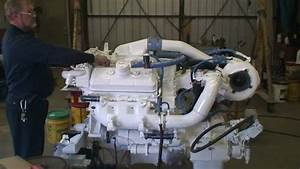 Port Side Detroit Diesel 6v92 Initial Start Up