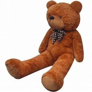 Ours En Peluche Xxl : ours en peluche doux xxl 100 cm marron ~ Teatrodelosmanantiales.com Idées de Décoration
