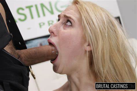 Brutal Casting Audition For Hardfucking Teenage