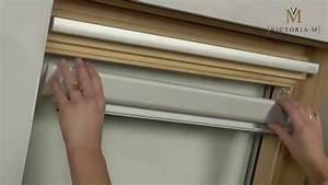 Verdunkelungsrollo Mit Führungsschiene : dachfensterrollo verdunkelungsrollo von victoria m ~ Watch28wear.com Haus und Dekorationen