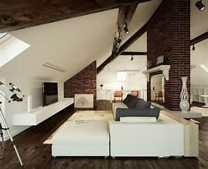 Dachschräge Einrichten Tipps : wohnzimmer einrichten gem tlich unter dachschr ge dach pinterest wohnzimmer dachboden und ~ Indierocktalk.com Haus und Dekorationen