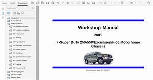 2001 Ford Excursion Repair Manual