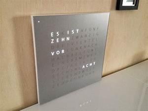 Uhr Mit Worten : carstens leisure time blog bau einer wortuhr nach dem ~ A.2002-acura-tl-radio.info Haus und Dekorationen