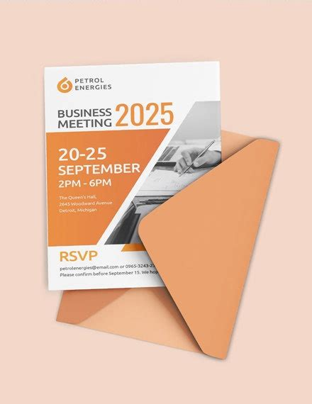 17+ Business Invitation Designs & Templates PSD AI