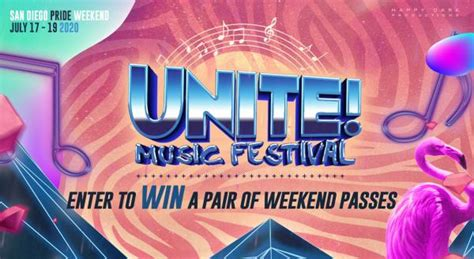 Food varies in cost, the music is free, so tip generously. Enter to win a pair of weekend passes to Unite Music Festival!   San Diego Pix