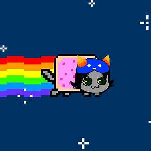 Nepeta Nyan Cat by SUPURU on DeviantArt