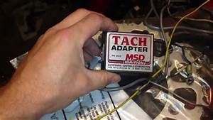 Stock Datsun Tachometer With Rb Swap