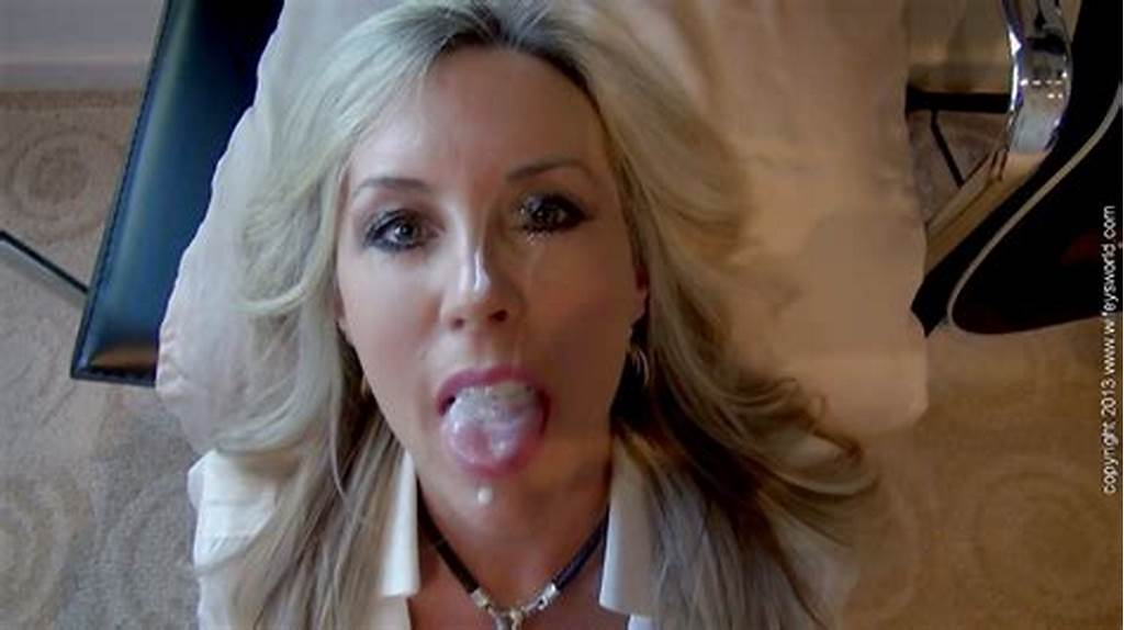 #Sassy #Blonde #Housewife #Pleases #A #Hard #Cock #For #A #Sticky