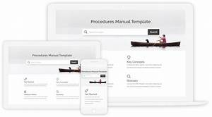 Create Procedures Manual With 100  Free Templates