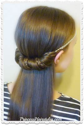 3 Quick and Easy Hairstyles For School Using Headbands