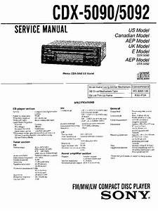 Car Radio Wiring Diagram Sony Cdx S2000  Sony Cdx Gt340