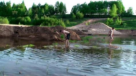 Peldēšanas sezonas atklāšana Grančās - YouTube