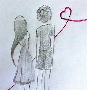 Drawings Of Boy And Girl Boy Girl Love Drawing - Drawings ...