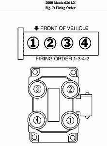 What Is The Firing Order Of A 2002 Mazda 626