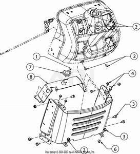 Troy Bilt 13am77ks011 Pony  2016  Parts Diagram For Dash